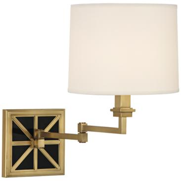 Mary McDonald Mont Blanc Directoire Swing Arm Wall Light