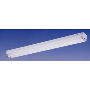 "White 48"" Wide Strip 2-Light Ceiling Fixture"