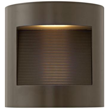 "Hinkley Luna 9"" High Bronze LED Outdoor Wall Light"
