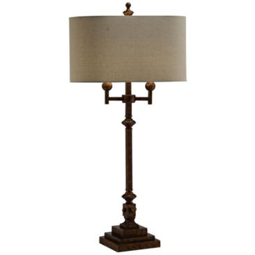Crestview Collection Harper Antique Gold Table Lamp