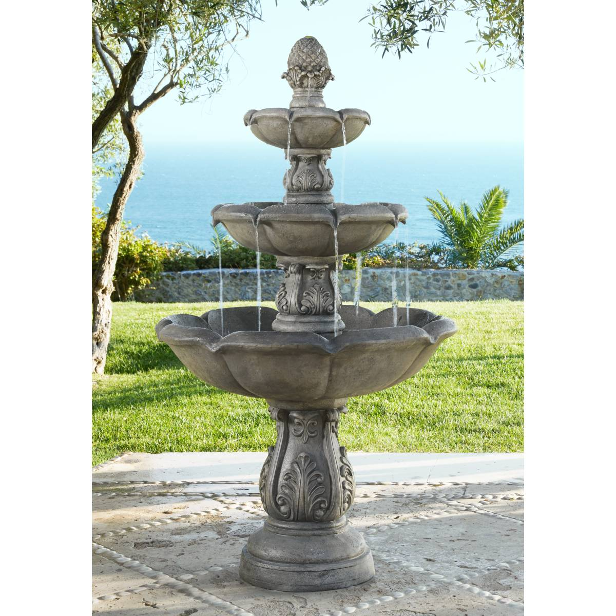 Garden Fountain: Outdoor Fountains - Patio & Garden Water Fountains