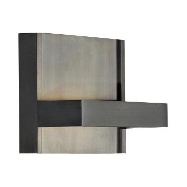 "Ashland 4 1/2"" High Bronze LED Sconce"