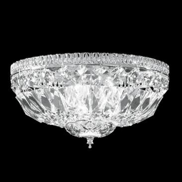 "James R. Moder Impact 12"" Wide Crystal Ceiling Light"