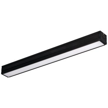 "Nora Bravo Frost 24.25"" Wide Bronze LED Under Cabinet Light"