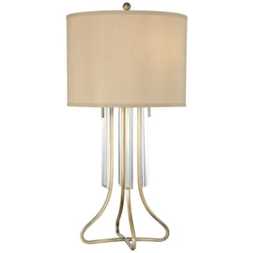 Lite Source Chantelle Antique Brass Table Lamp