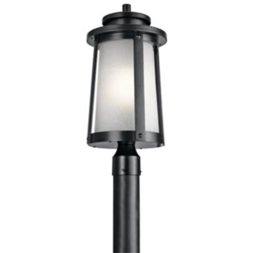 "Kichler Harbor Bay 20 1/2"" High Black Outdoor Post Light"