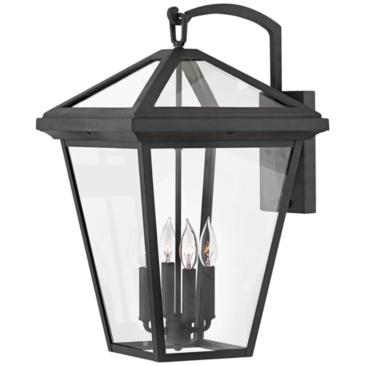 "Hinkley Alford Place 24""H Museum Black Outdoor Wall Light"