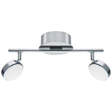 Eglo Salto 2-Light Chrome LED Track Fixture
