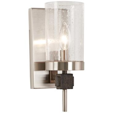 "Bridlewood 11 1/4"" High Brushed Nickel Wall Sconce"