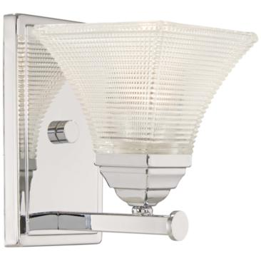 "Conspire 8"" High Chrome Wall Sconce"