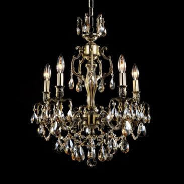"James R. Moder Sierra 20"" Wide Monaco Bronze Chandelier"