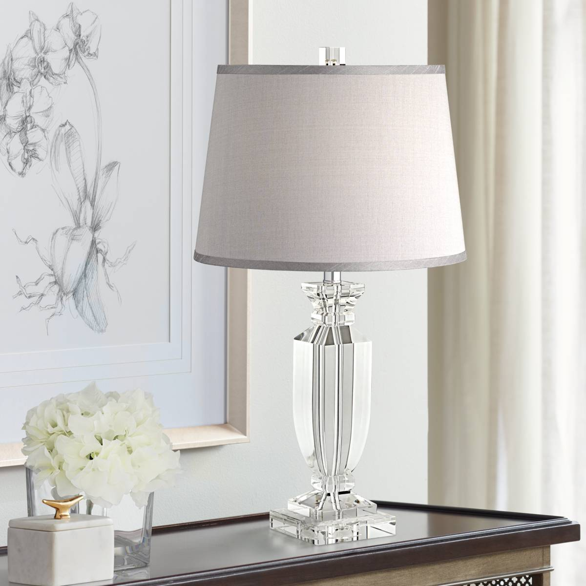 Crystal Bedroom Table Lamps Lamps Plus