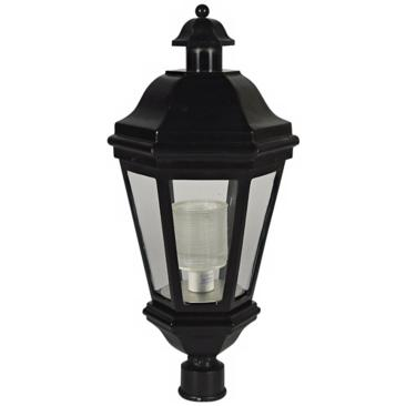 "Black Finish 32"" High Outdoor Post Light"