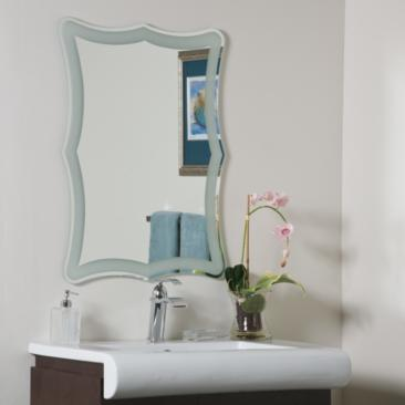 "Coquette 23 1/2"" x 31 1/2"" Novelty Wall Mirror"