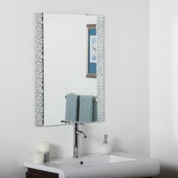 "Sierra 23 1/2"" x 31 1/2"" Vanity Bathroom Wall Mirror"