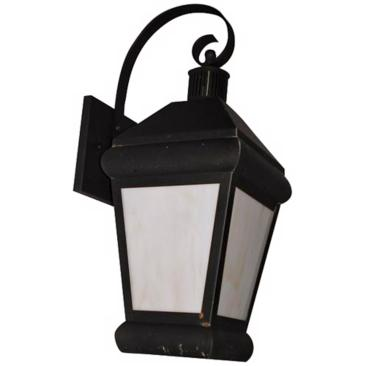 "Old World Finish 17 3/4"" High Exterior Wall Light"