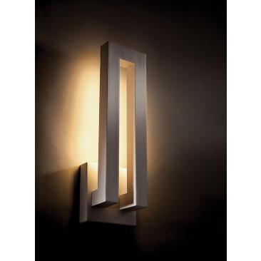 "Modern Forms Forq 18"" High Graphite LED Outdoor Wall Light"