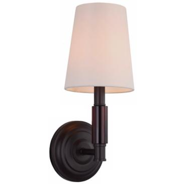 "Feiss Lismore 14"" High Oil Rubbed Bronze Wall Sconce"