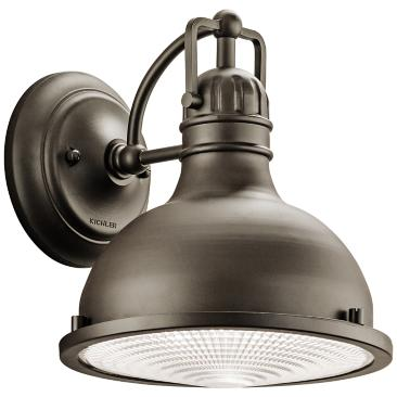 "Hatteras Bay 9 1/2"" High Bronze LED Outdoor Wall Light"