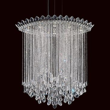 "Schonbek Trilliane Strand 45"" Wide Crystal Pendant Light"