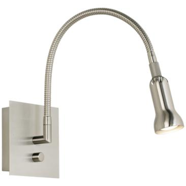 Holtkoetter Satin Nickel Halogen Wall Light