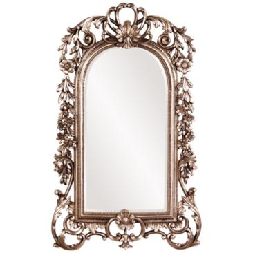 "Sherwood Silver Leaf 14"" x 22"" Wall Mirror"
