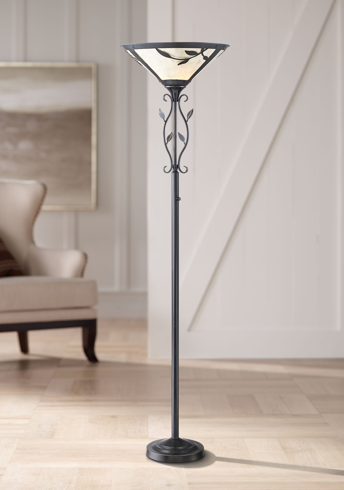 Tiffany Torchiere Floor Lamps Lamps Plus