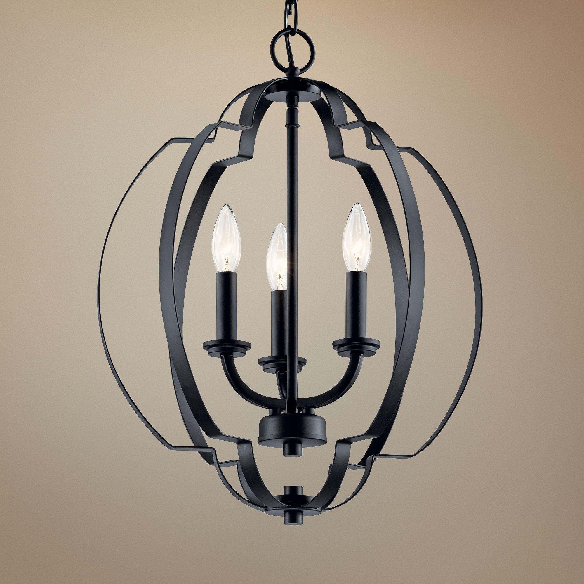 Black Lantern Pendant Lighting Fixtures Lamps Plus