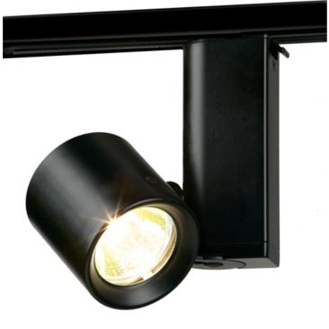 Lightolier Miniforms MR16 Low Voltage Track Light in Black
