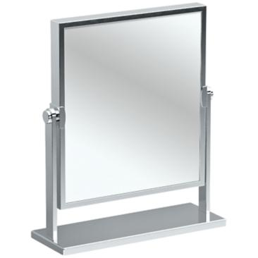 "Gatco Elegant Chrome 9 3/4"" x 12"" Table Mirror"