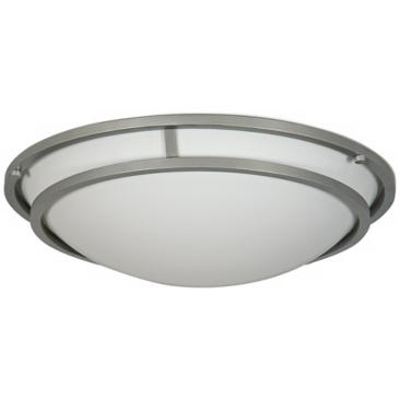 "Embarcedero Brushed Aluminum 19"" Wide Ceiling Light"