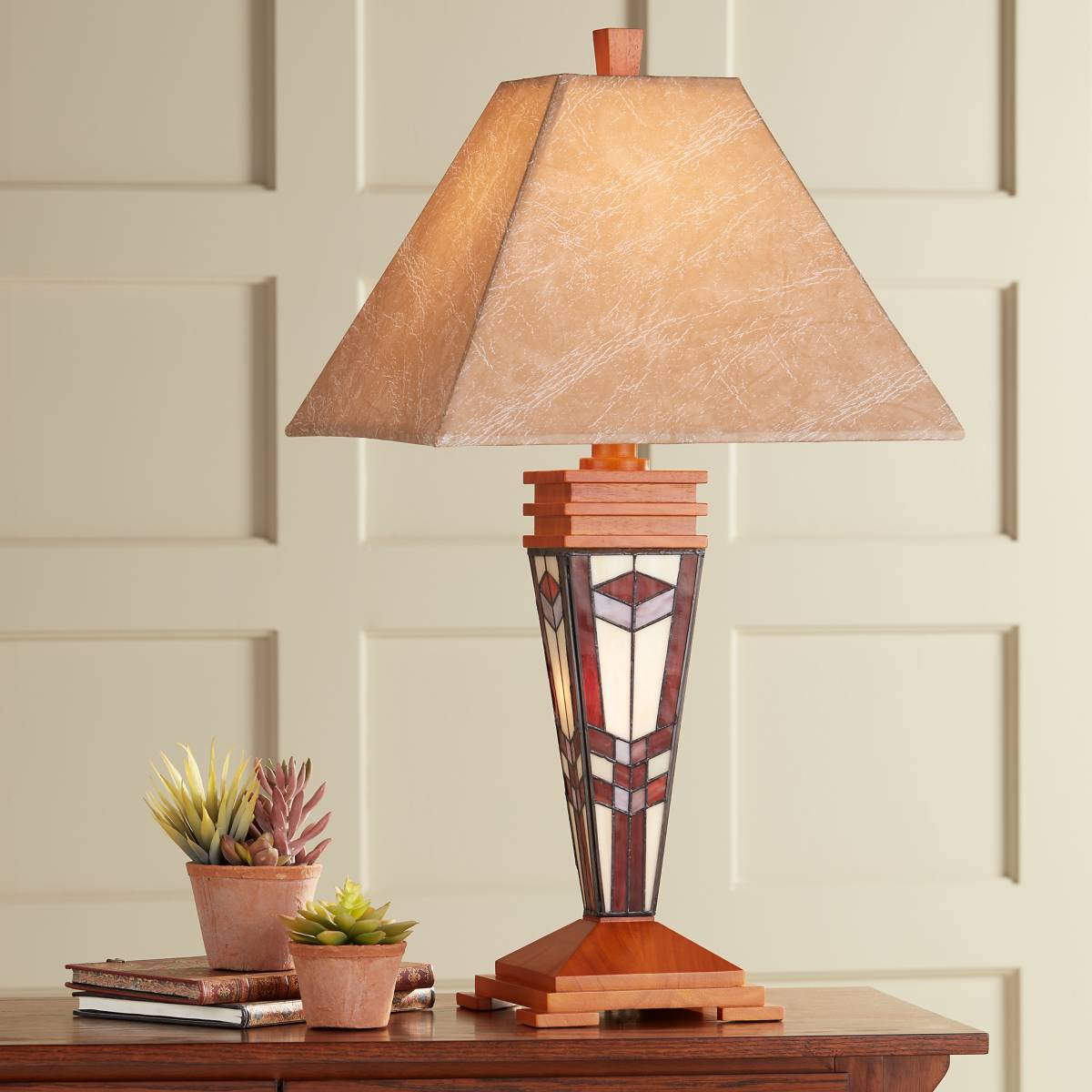 Lamp S: Wood, Rustic - Lodge, Table Lamps