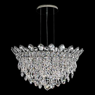 "Schonbek Trilliane Strands 24"" Wide Crystal Pendant Light"