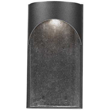 "Artcraft Westbrook 14"" High Black LED Wall Sconce"
