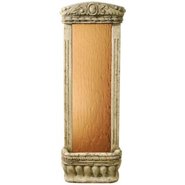 "Bronze Mirror 48"" High Watergarden Wall Mounted Fountain"