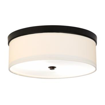 "Bronze Finish 14"" Wide Energy Efficient Ceiling Light"