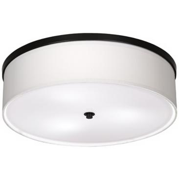 "Bronze Finish Energy Efficient 20 1/4"" Wide Ceiling Light"