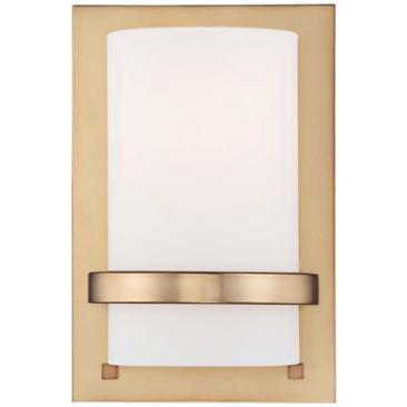 "Minka Lavery Contemporary 10"" High Honey Gold Wall Sconce"