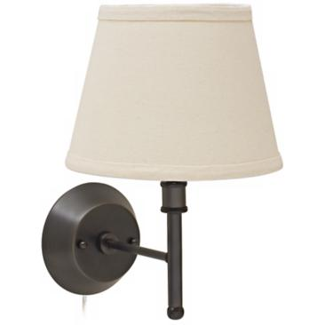House of Troy Greensboro Bronze Torch Wall Lamp