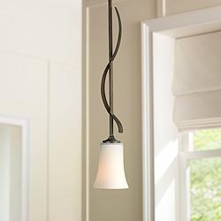 "Feiss Boulevard Collection 4 1/4"" Wide Mini Pendant"