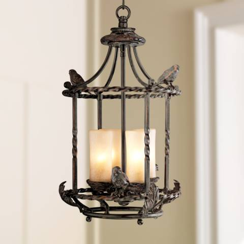 Song Birds 13 Quot Wide Pendant Indoor Outdoor Chandelier