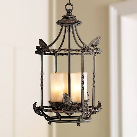 Song birds 13 wide pendant indoor outdoor chandelier 00682 song birds 13 wide pendant indoor outdoor chandelier aloadofball Gallery