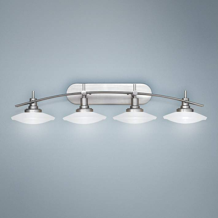 Wide Bathroom Light Fixture