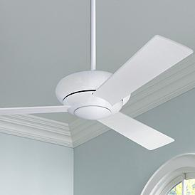 42 Modern Fan Altus Gloss White Ceiling