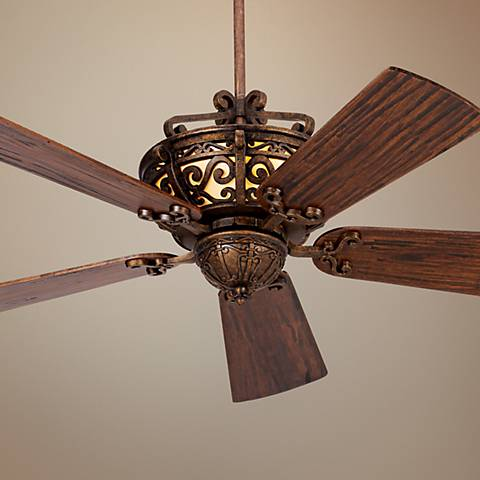 "54"" CraftmadeToscana Peruvian Finish Ceiling Fan"
