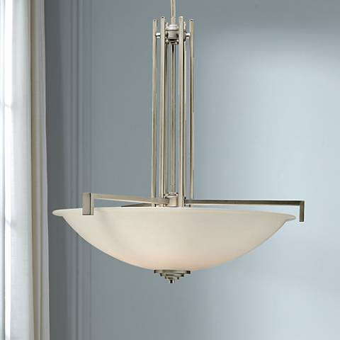 "Hendrik Brushed Nickel 26""W Pendant Chandelier by Kichler"