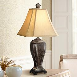 Desert Crackle Traditional Table Lamp by Regency Hill