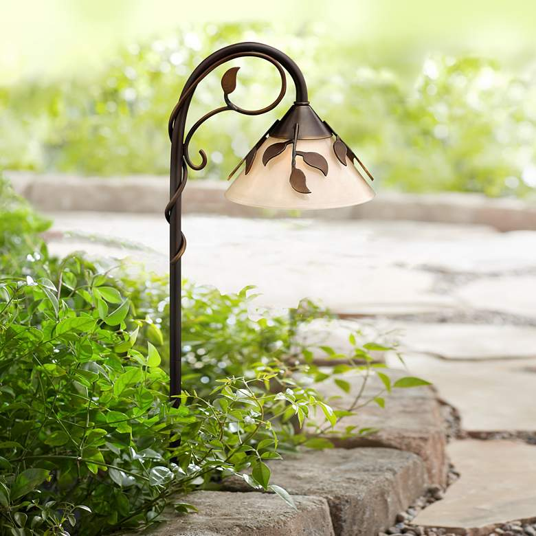 "Hinkley Ivy 26"" High Copper Bronze Low Voltage Path Light"
