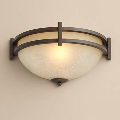 "Oak Valley Collection 14 1/2"" Wide Pocket Wall Sconce"