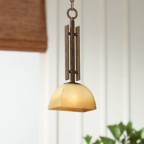 "Lineage Collection 8"" Wide Mini-Pendant by Minka Lavery"